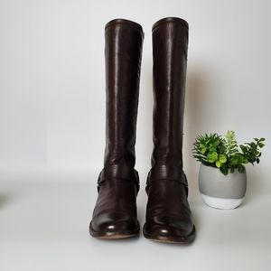 Frye Phillip harness tall boot, Size 7.5